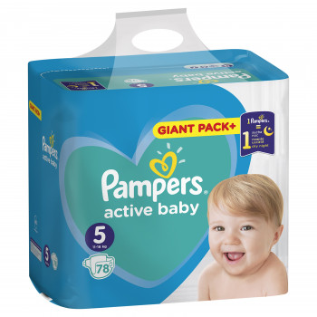 Pampers pelene bag 5 junior 11-16kg 78kom