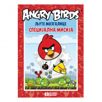 Evro book Ljute mozgalice Angry birds