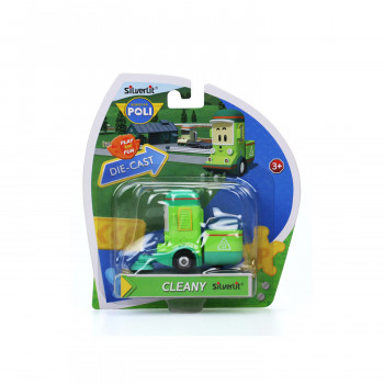 Robocar Poli die-cast Cleany