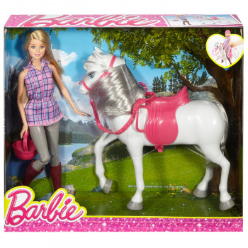 Barbie set sa ponijem