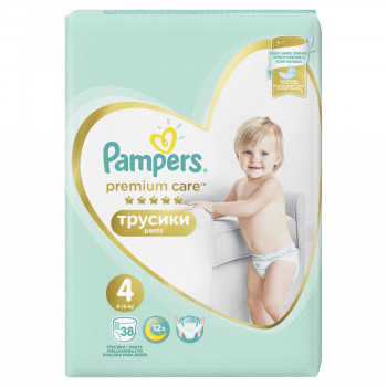 Pampers pants premium VP 4 maxi 8-14kg 38kom