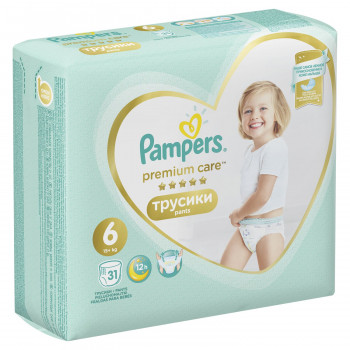 Pampers pants premium VP 6 extra large 15+kg 31kom