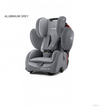 Recaro a-s 1/2/3(9-36kg) YoungSportHero, alum grey