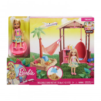 Barbie travel - set chelsea na plazi