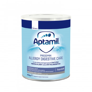 Milupa mleko aptamil allergy digestive care 400g
