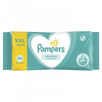 Pampers baby vlažne maramice sensitive 80kom
