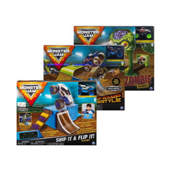 Monster Jam Zombie Staza Set
