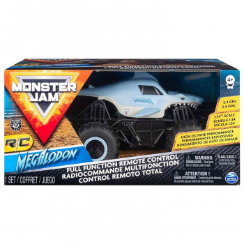 Monster Jam Dirt Rc Set Sa Preprekama