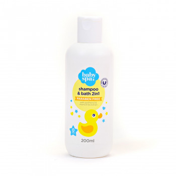 Baby spa šampon i kupka 200ml