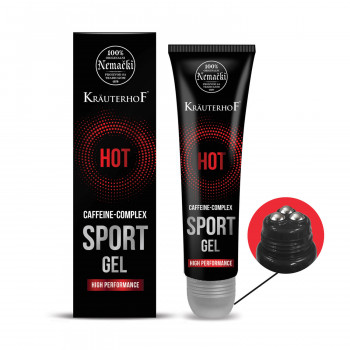 Krauterhof sport gel hot 150ml