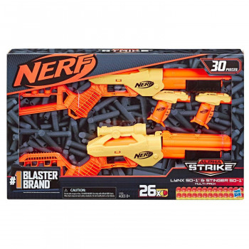 Nerf Alpha Strike Lynx Stger Multi Pack