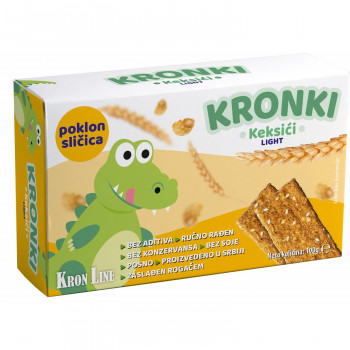 Kronki keksić light 100g