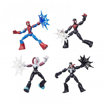 Spiderman Flexy figura asst