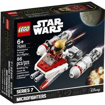 Lego Star Wars resistance y-wing microfighter
