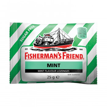 Fishermans pepermint pastile  GF 25g