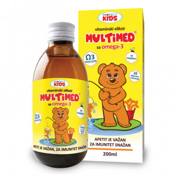 Protect Kids,Multimed Omg 3 Vitamin eliksir,200 ml