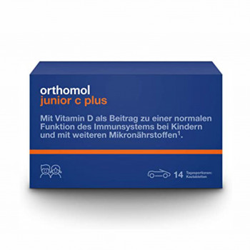 Orthomol Junior C plus tablete mix a14