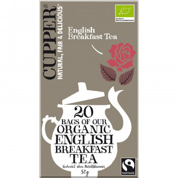 Cupper čaj english breakfast 50g