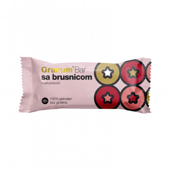 Granum bar sa brusnicom 30g