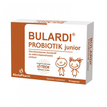 Abela Pharm Bulardi probiotik junior, 10 caps