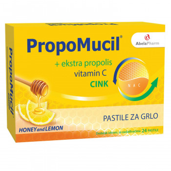 Abela Pharm Propomucil pastile, honey and lemon