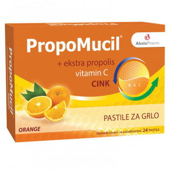 Abela Pharm Propomucil pastile, orange