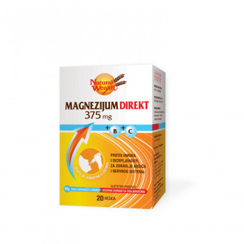 Natural Wealth MG direkt 375+B+C kesica a20