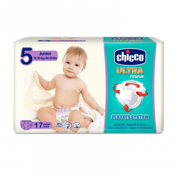 Chicco pelene ULTRA Junior 17X10 12-25kg,17kom