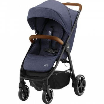 Britax Romer kolica B-Agile R Navy Ink, brown