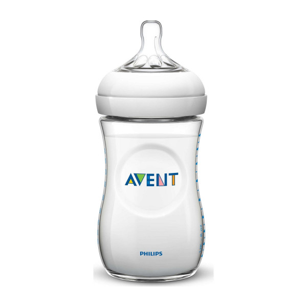 Avent Natural plastična flašica 1m+ 260ml 6397