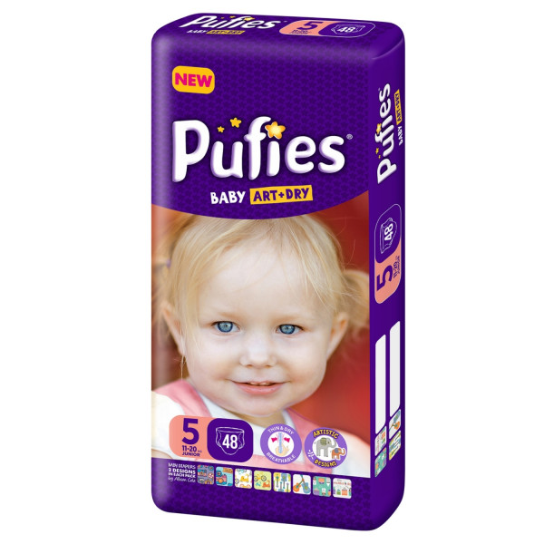 Pufies pelene baby art MP 5 junior 11+kg 48kom