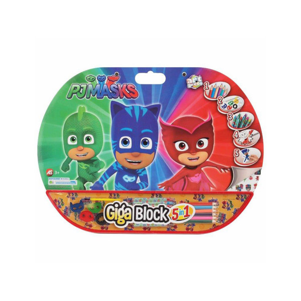 Giga Block 5 In 1 Pj Masks
