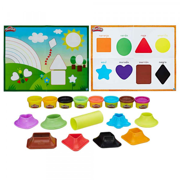 Play-doh plastelin set boje i oblici