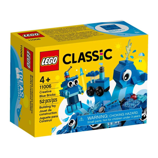 Lego Classic creative blue bricks