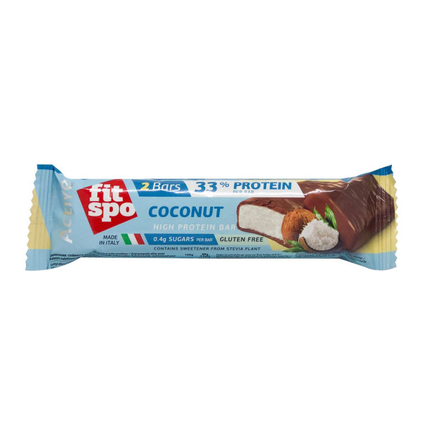 Fitspo protein bar  kokos low sugar 60g