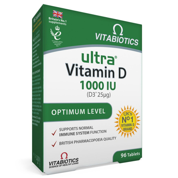 Ultra Vitamin D 1000, 96 tableta