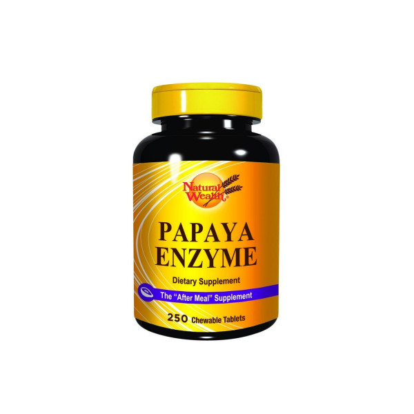 Natural Wealth Papaja enzim tablete a250