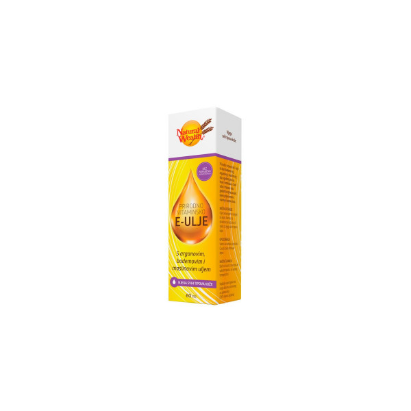 Natural Wealth Vitamin E ulje 60ml