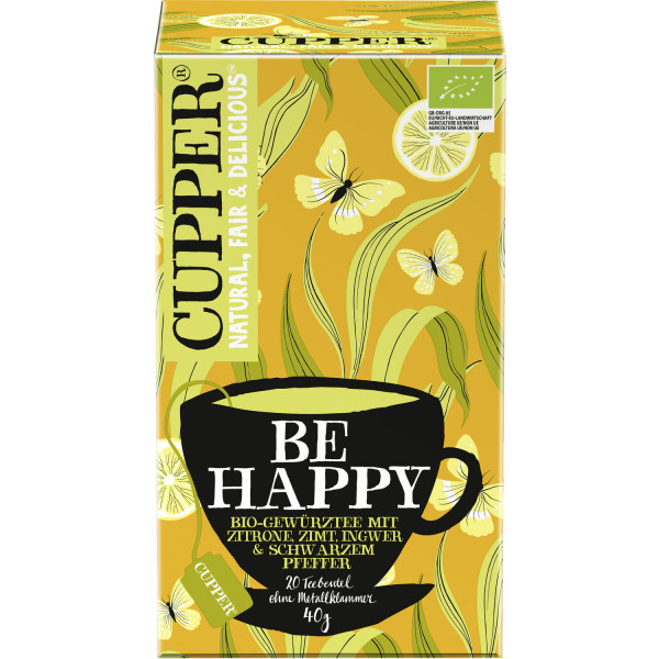 Cupper čaj Be happy 40g