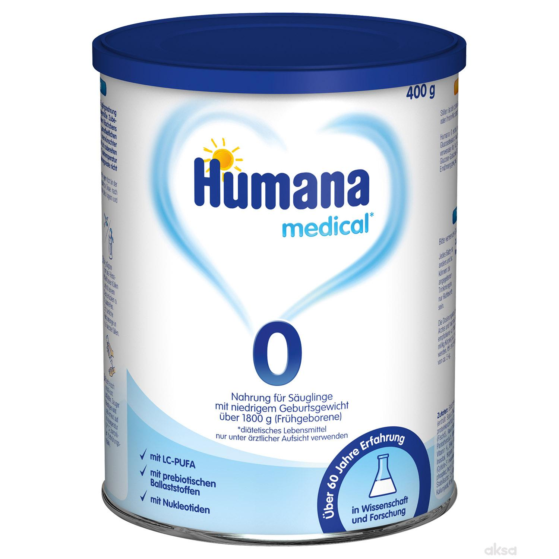 Humana mleko 0 PB 400g,