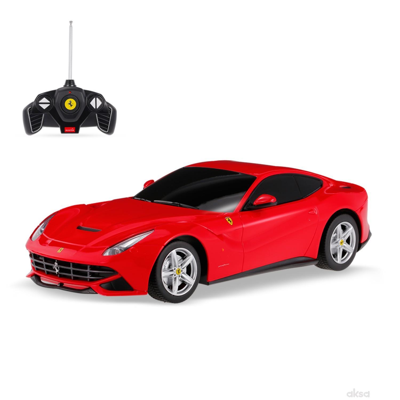 Rastar igračka RC automobil Ferrari F12 1:18 - crv