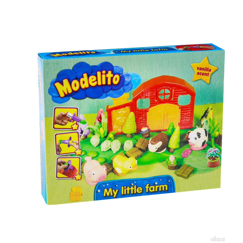 Modelito plastelin set farma