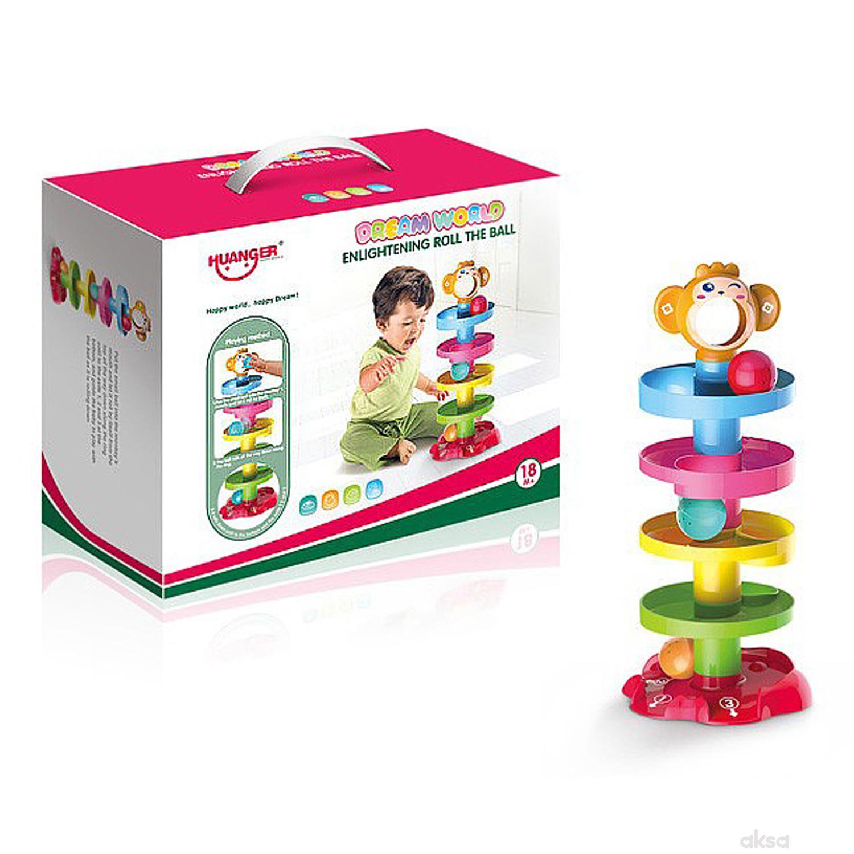 Qunsheng Toys, igračka, tobogan sa lopticama