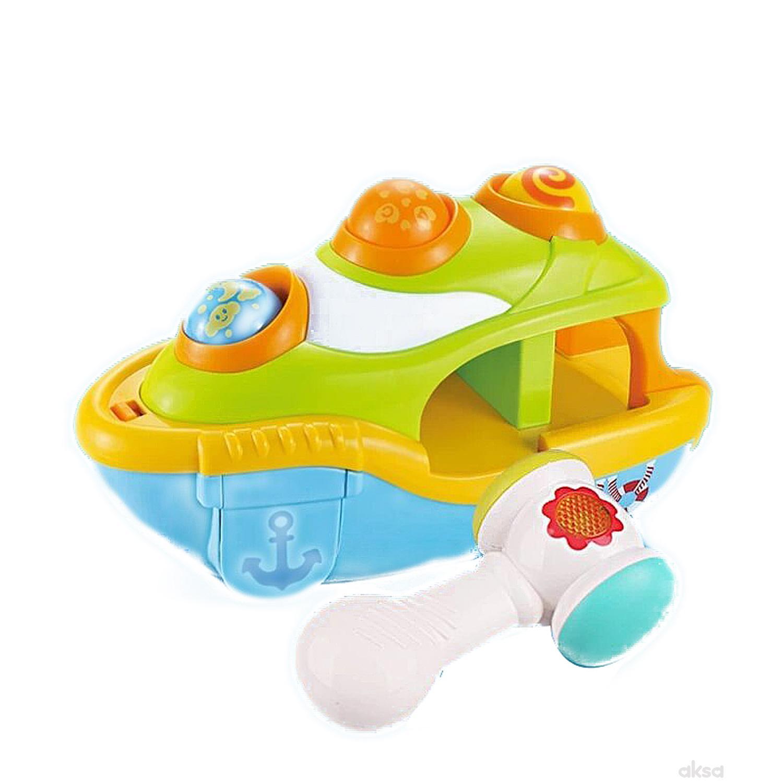 Qunsheng Toys, igračka umetaljka brod