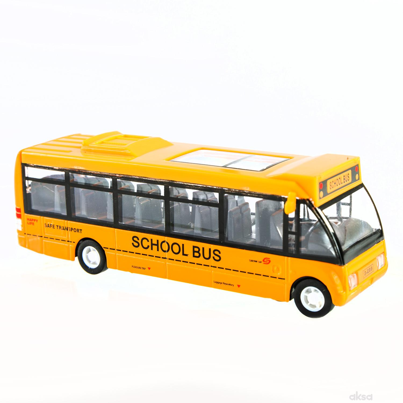 Hk Mini igračka gradski autobus, display 6 komada