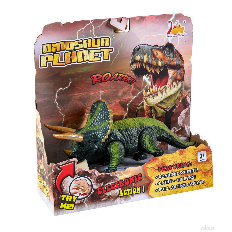 HK Mini igračka dinosaurus triceraptors