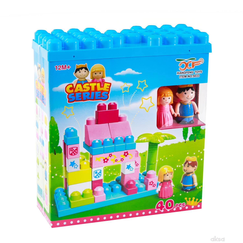 HK Mini baby kocke dvorac