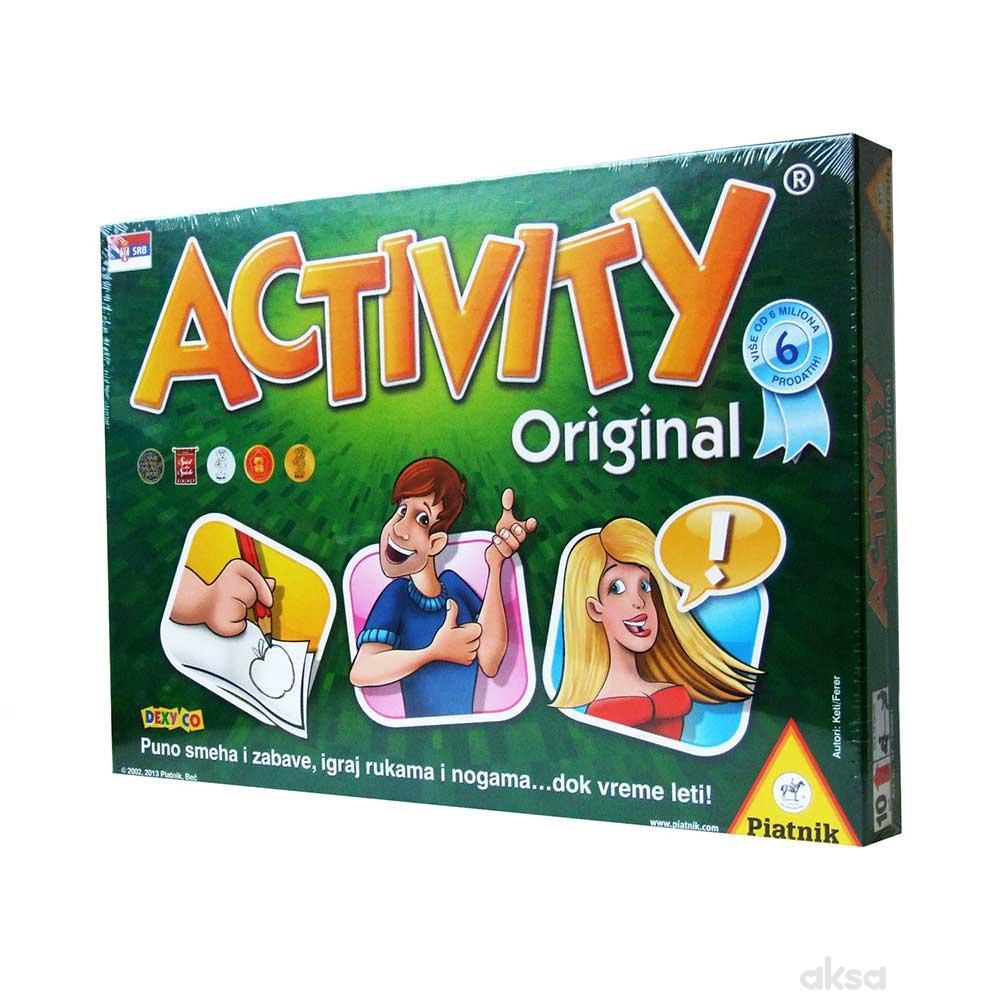 Piatnik activity društvena igra