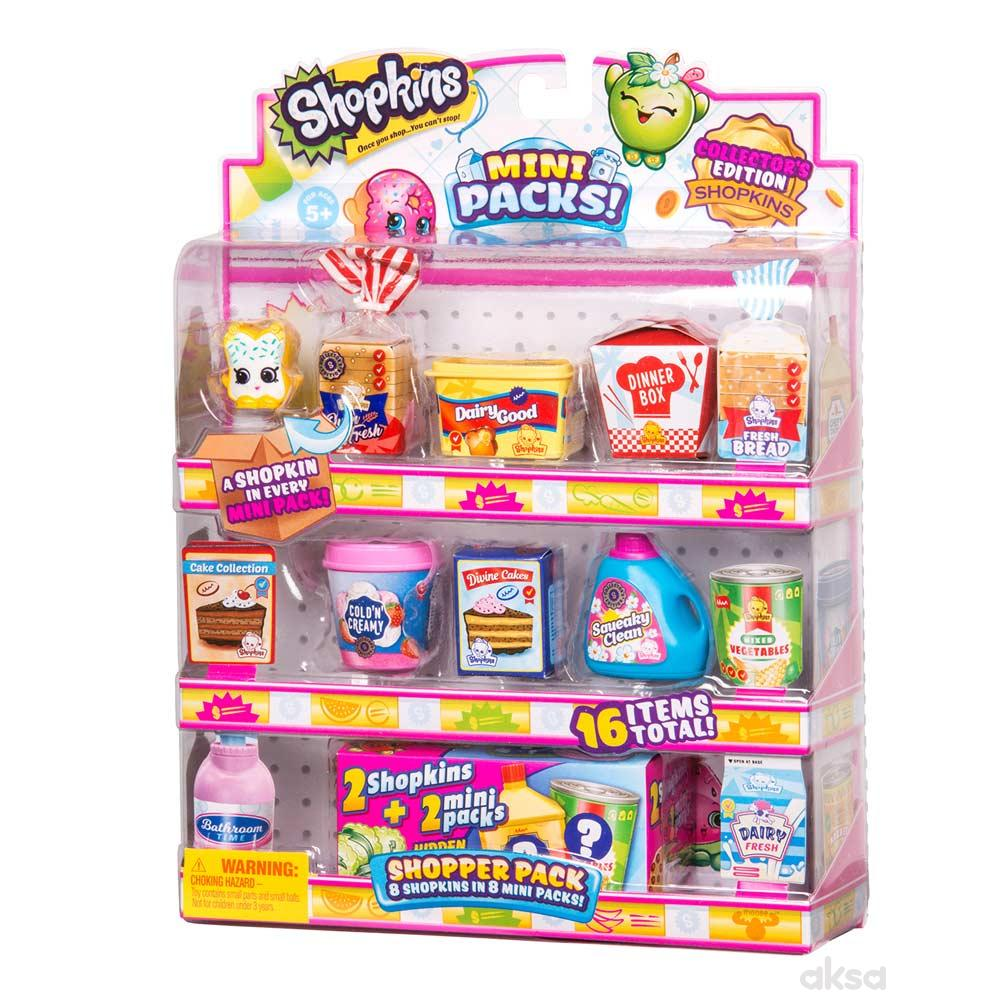 Shopkins shopper 8 kom