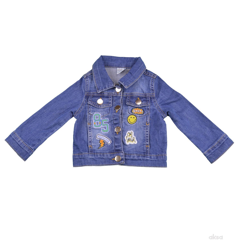 Lillo&Pippo teksas jakna,dečaci